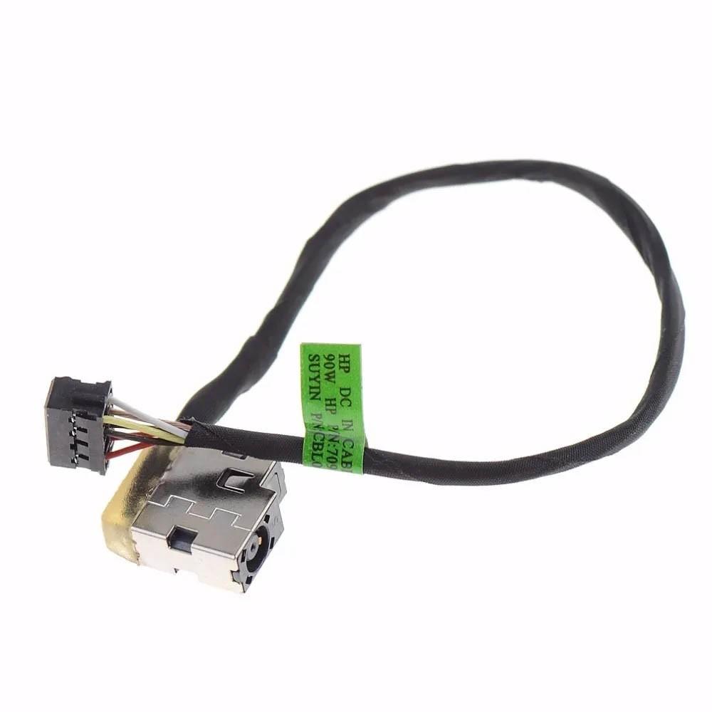 Conector Power Jack for Hp Pavilion 17-E 15-E D 7 PN: 709802-ydi - Novo