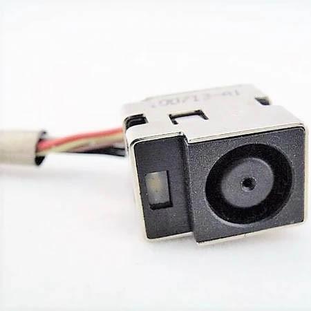 Conector Power Jack for HP Pavilion DM3-3000 DM3T-3000 PN: 50.4kd04.001 - Novo