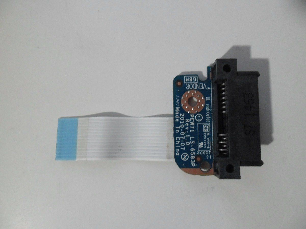 Conector Sata Hd Notebook Gateway Pew91 Pew71 Ls-6583p