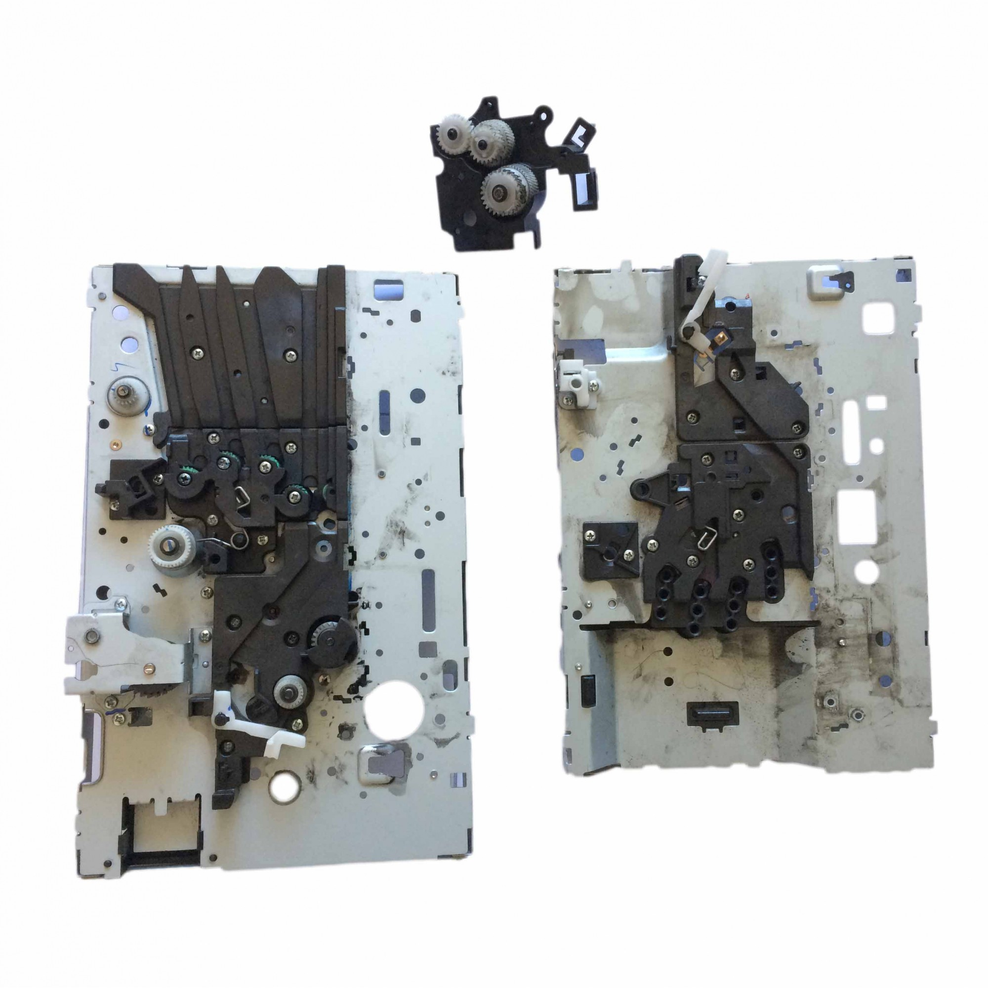 Conjunto de engrenagens Mecanismo Completo Multifuncional Samsung Sl-c410w C460w C460fw PN:j561-05695.a#2 - Retirado