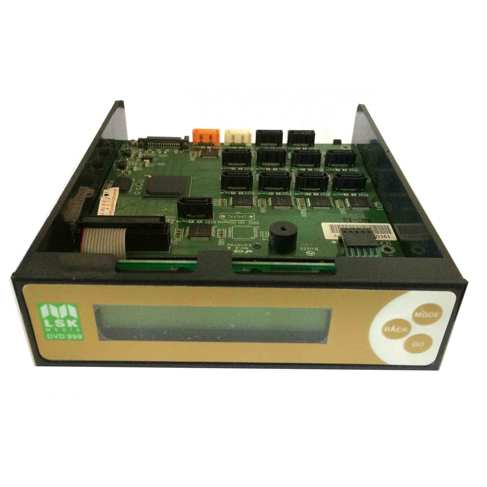 Controladora Lsk 999 Dvd E Cd Sata Gravador e Duplicador Cobre - Retirado