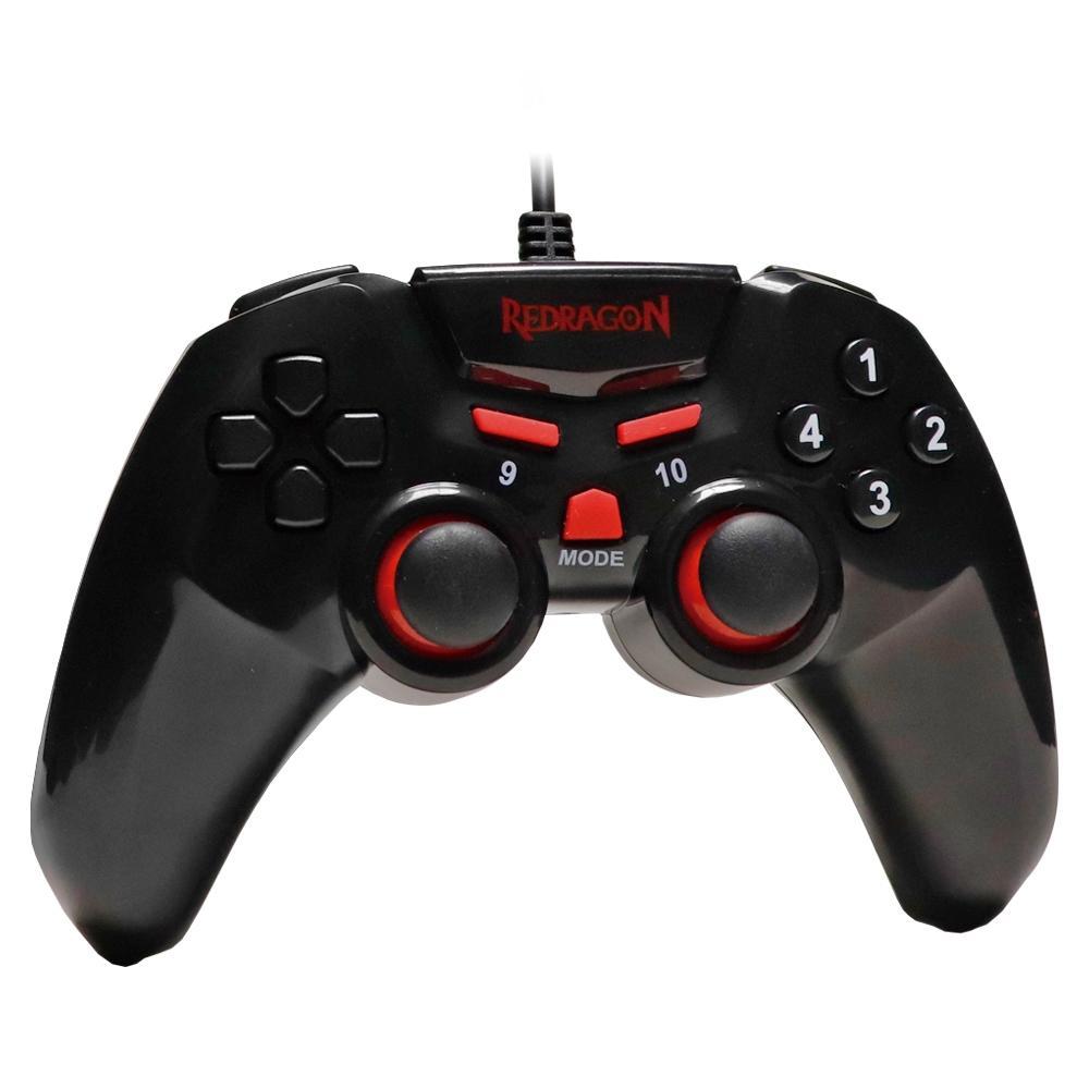 Controle Redragon Seymour 2 PC/PS3 Preto Fosco - G806-1