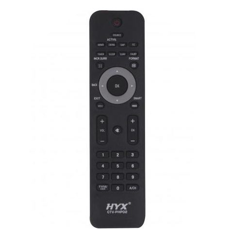 Controle Remoto ChipSce p/ Tv PHILIPS lcd 32PFL5403 e 42PFL5403 Preto - M-9544