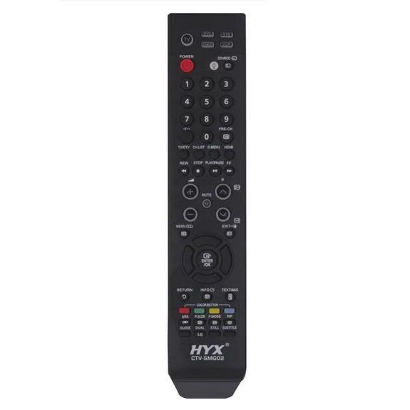Controle Remoto para TV LCD Samsung, Hyx, Preto  BN59-00604A M-9549