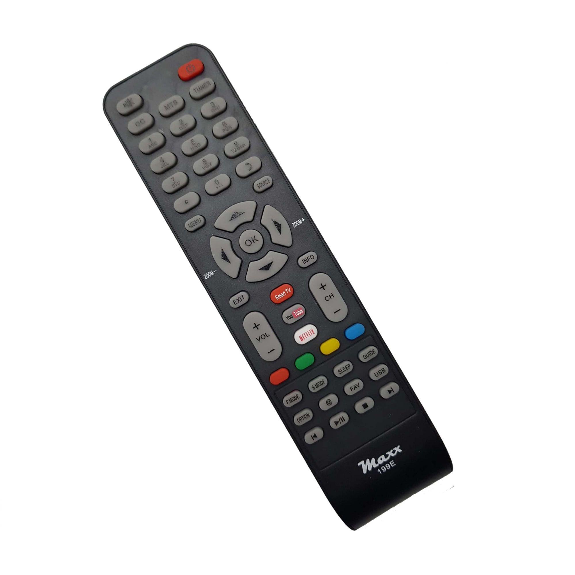 Controle Remoto Tv Led Semp Tcl Rc199E / L40S4700Fs Netflix