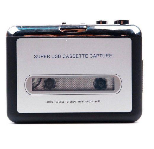 Conversor De Áudio Fita Cassete para USB via PC p/ Mp3