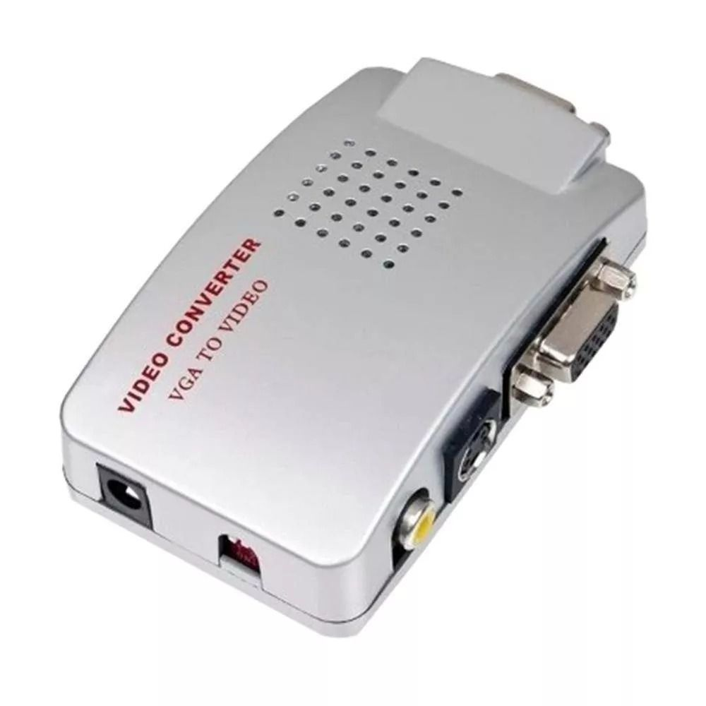 Conversor de Vídeo VGA para RCA S-Video VGA 9630