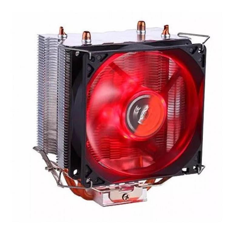 Cooler Dex Gamer P/ Processador Universal Amd E Intel Led Vermelho - DX-9000 RED