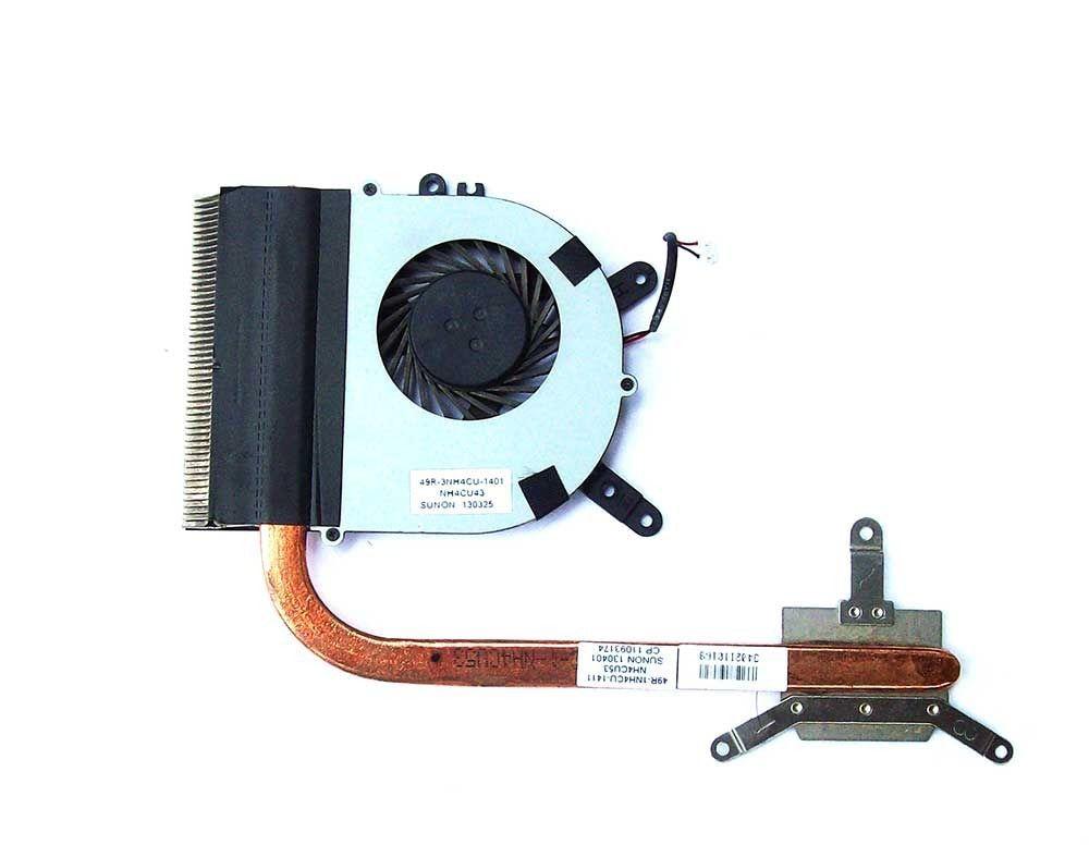 Cooler e Dissipador Notebook CCE U25 N325 49R-3NH4CU-1401 Retirado