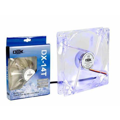 Cooler Fan Led Azul 140mm DEX Dx-14T