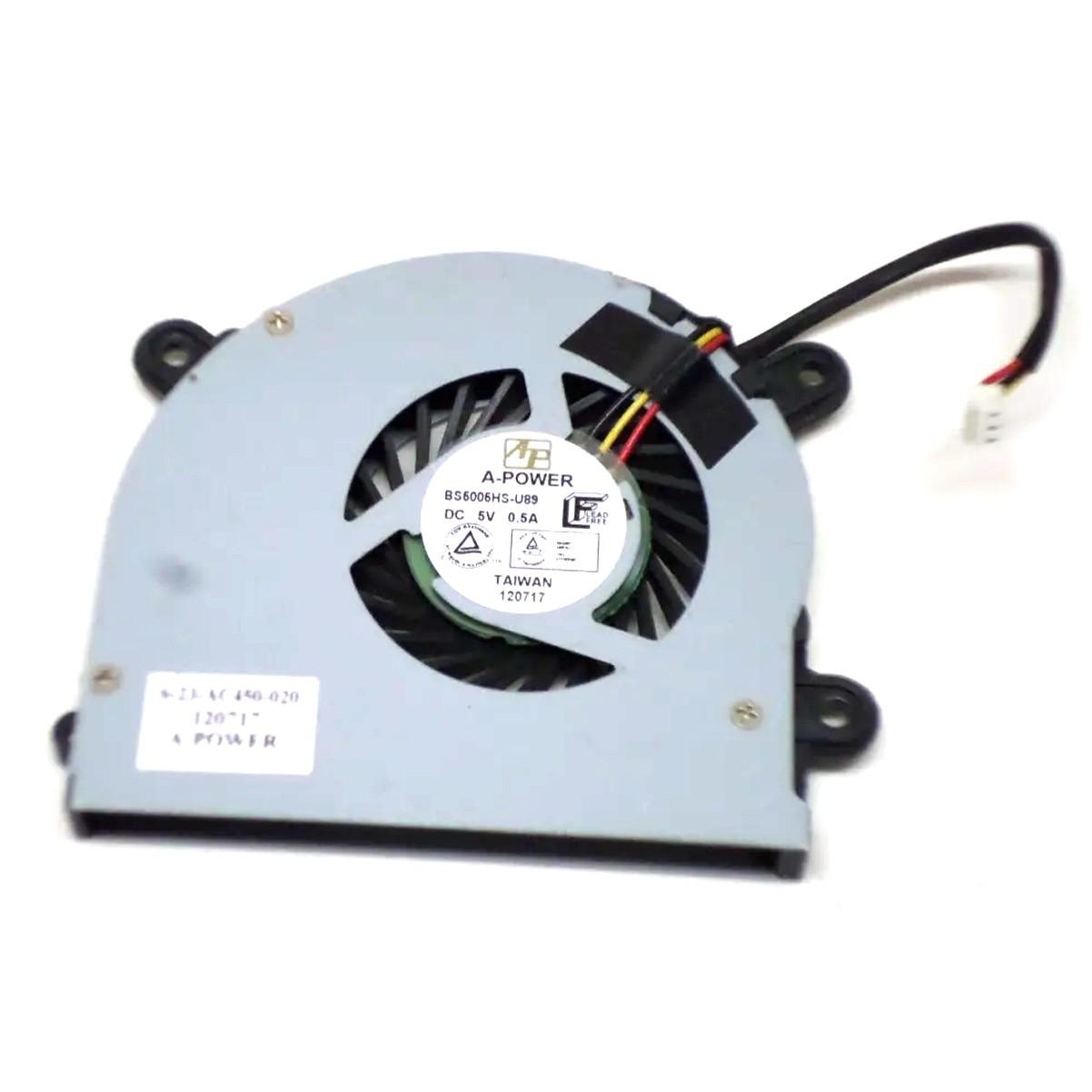 Cooler P/ Notebook Itautec Infoway A7520 PN:623ac450020 - Retirado