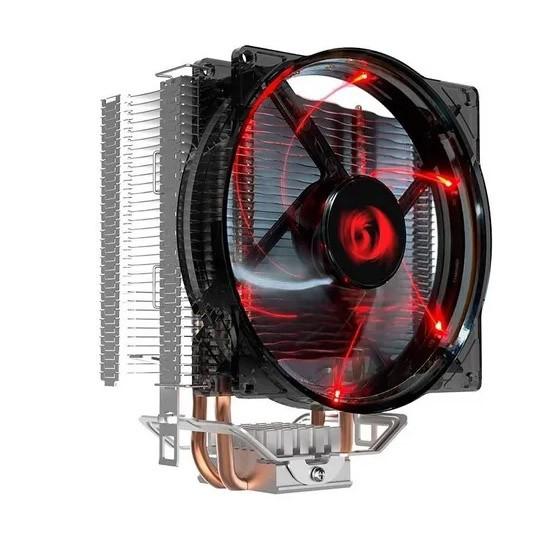 Cooler Para Processador C/ Heatpipe Led Vermelho Redragon Reaver - CC-1011