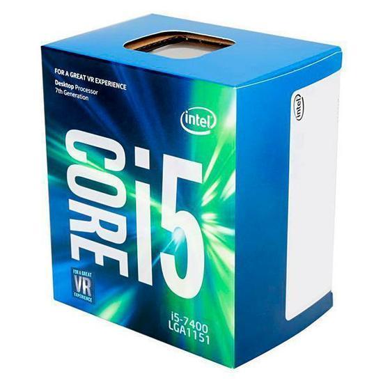 Computador CPU Top Gamer Intel Core I5 7400 3.0Ghz 8GB DDR4 HD 1TB RX580 8GB Fonte 500W 80 Plus