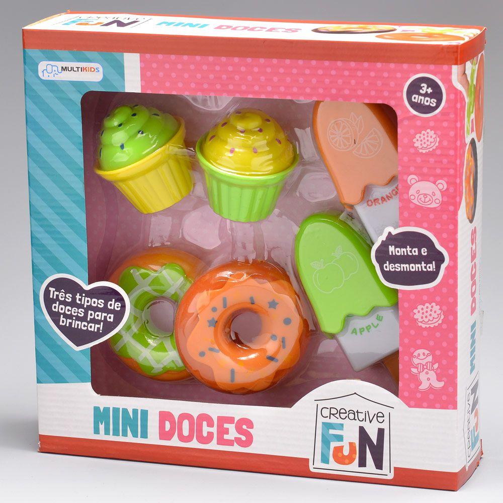 Creative Fun - Mini Doces - Multikids BR601