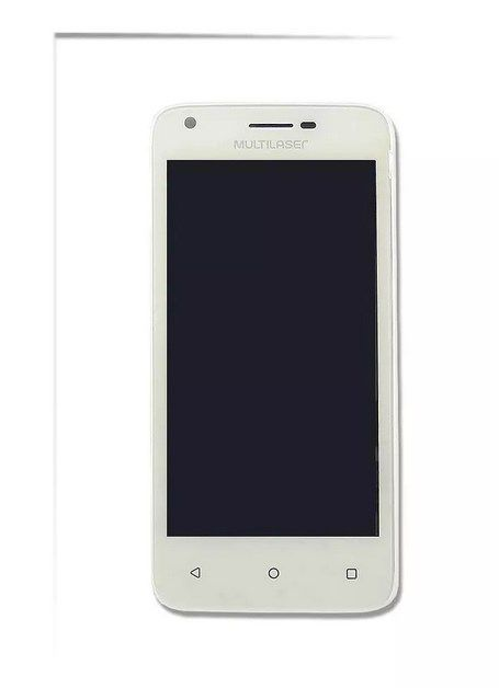 Display Completo Smartphone Multilaser Ms45s Branco Pr30011