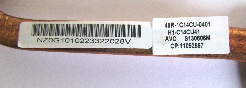 Dissipador Notebook Cce I25 49r-1c14cu-0401 (semi novo)