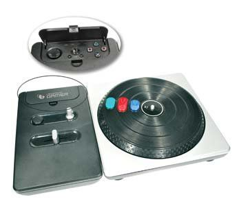 DJ Turnable Wireless PS2/PS3 Leadership PS2 e PS3 6837