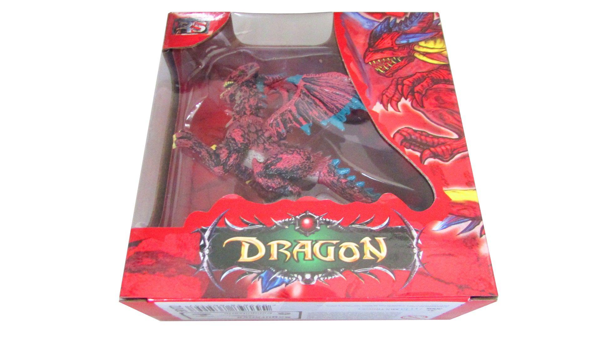 Dragão Aeolosaurus Vermelho Multikids BR1072