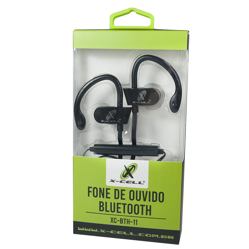 Fone de Ouvido Bluetooth Sport X-Cell - Preto - BTH11
