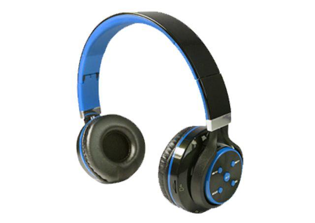 Fone de Ouvido Bluetooth X-Cell Preto e Azul
