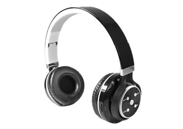 Fone de Ouvido Bluetooth X-Cell Preto e Branco