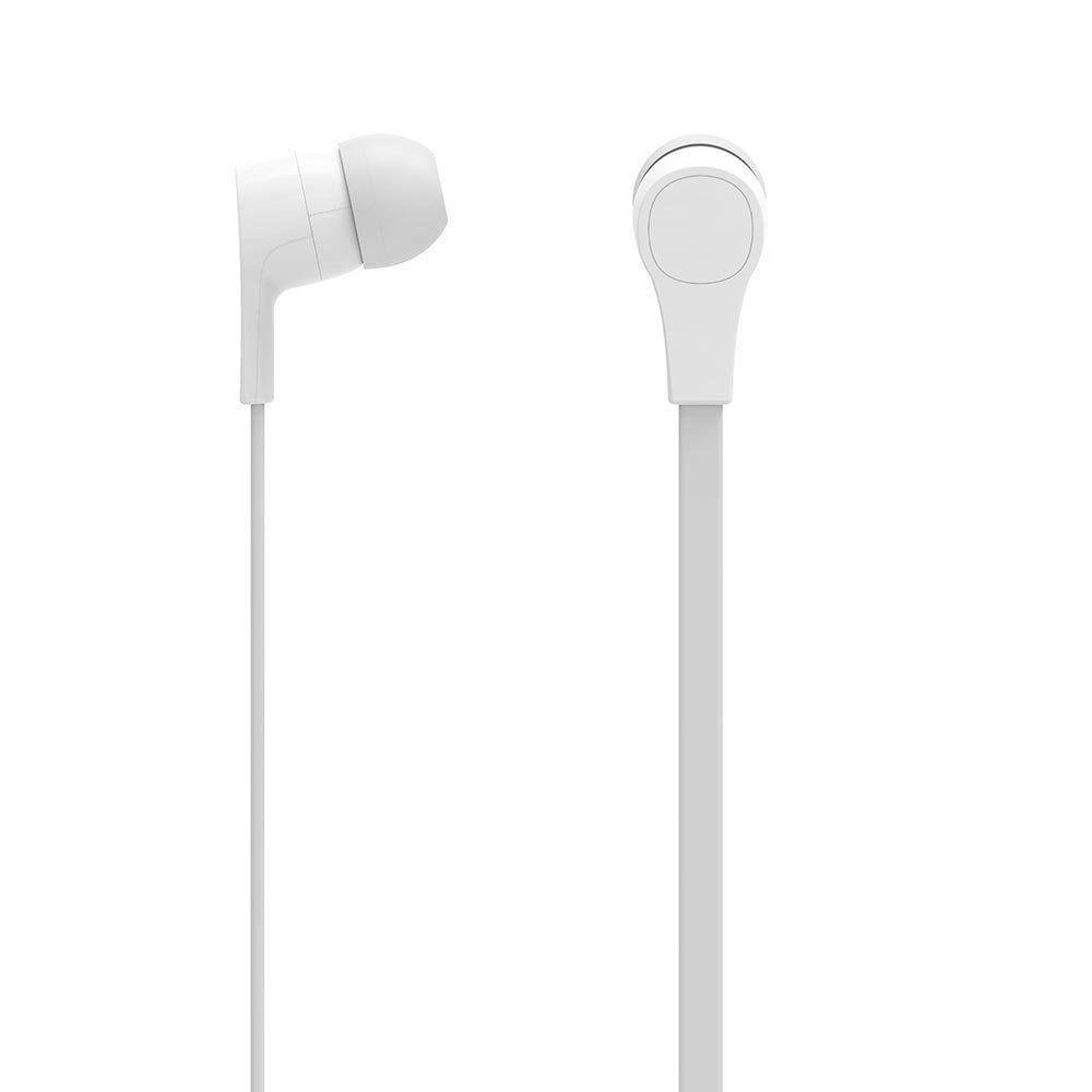Fone De Ouvido Branco c/ Microfone PH209