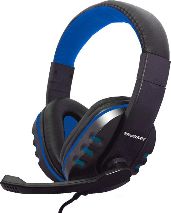 Fone de Ouvido Headset F-1 Azul - TecDrive
