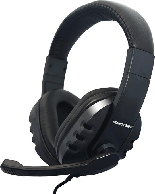 Fone de Ouvido Headset F-1 Preto - TecDrive