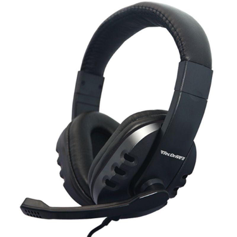 Fone de Ouvido Headset para PC/PS4 F-13 Preto - TecDrive
