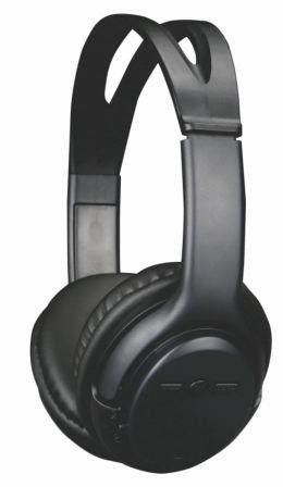 Fone de Ouvido Sem Fio Preto Bluetooth Pisc 18104
