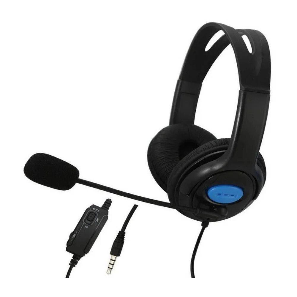 Fone Headset Gamer Compatível Ps4 Xone Xtrad - Xd536