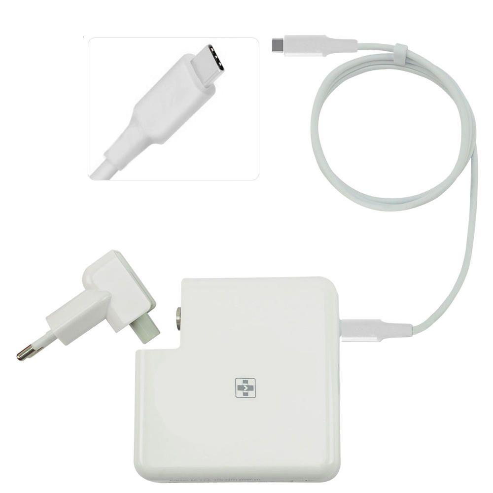 Fonte Carregador Mais Mania Notebook 5V 9V 12V 14.5V 15V 20V e 20.3V - 61W USB Type-C