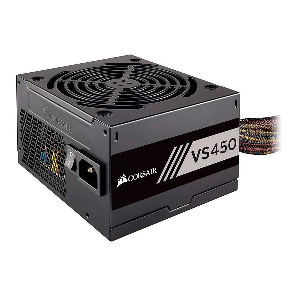 Fonte Corsair 450W 80 Plus White VS450 - CP-9020170-WW