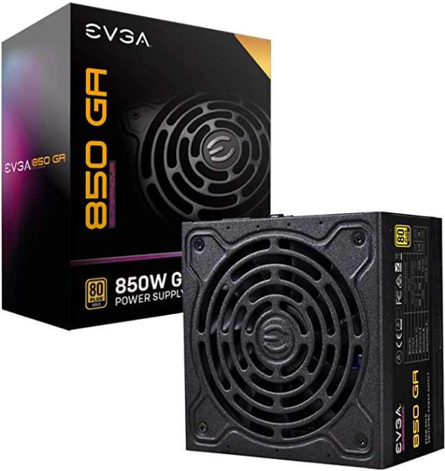 Fonte EVGA SuperNOVA 850 Ga 80 Plus Gold 850W 150mm Size Power Supply - 220-GA-0850-X1