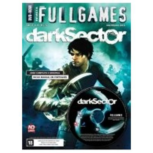 Revista Fullgames Nº 99 - Dark Sector Midia Fisica Jogo Completo