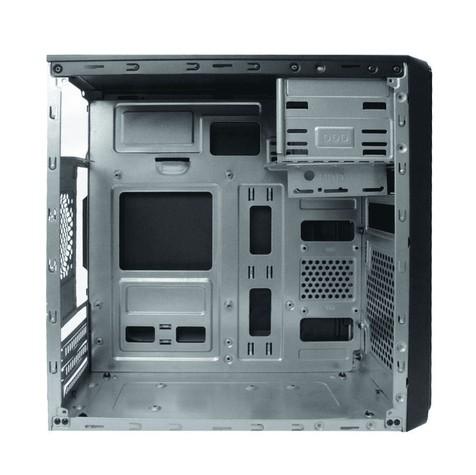 Gabinete C3tech  Com Fonte 200w Preto - MT-24V2BK
