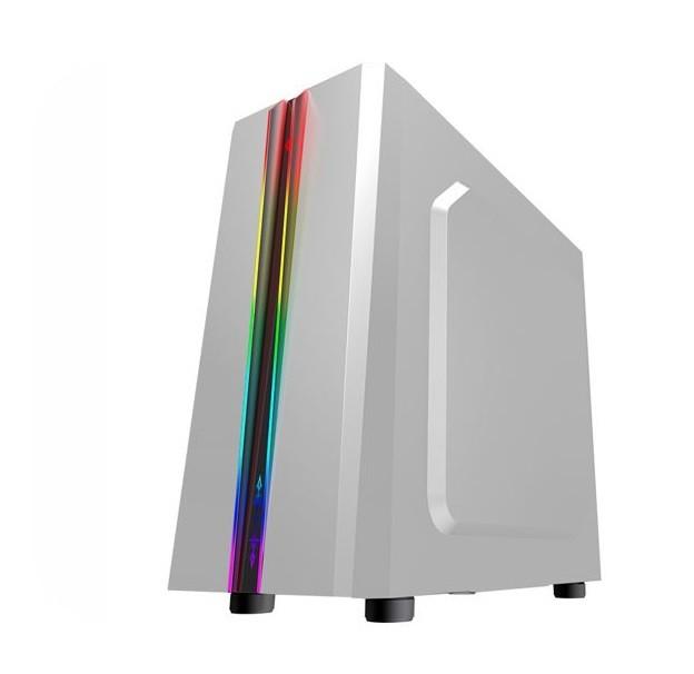 Gabinete Gamer K-mex Odyssey Cg05rd Led Frontal Rgb Rainbow S/ Fan