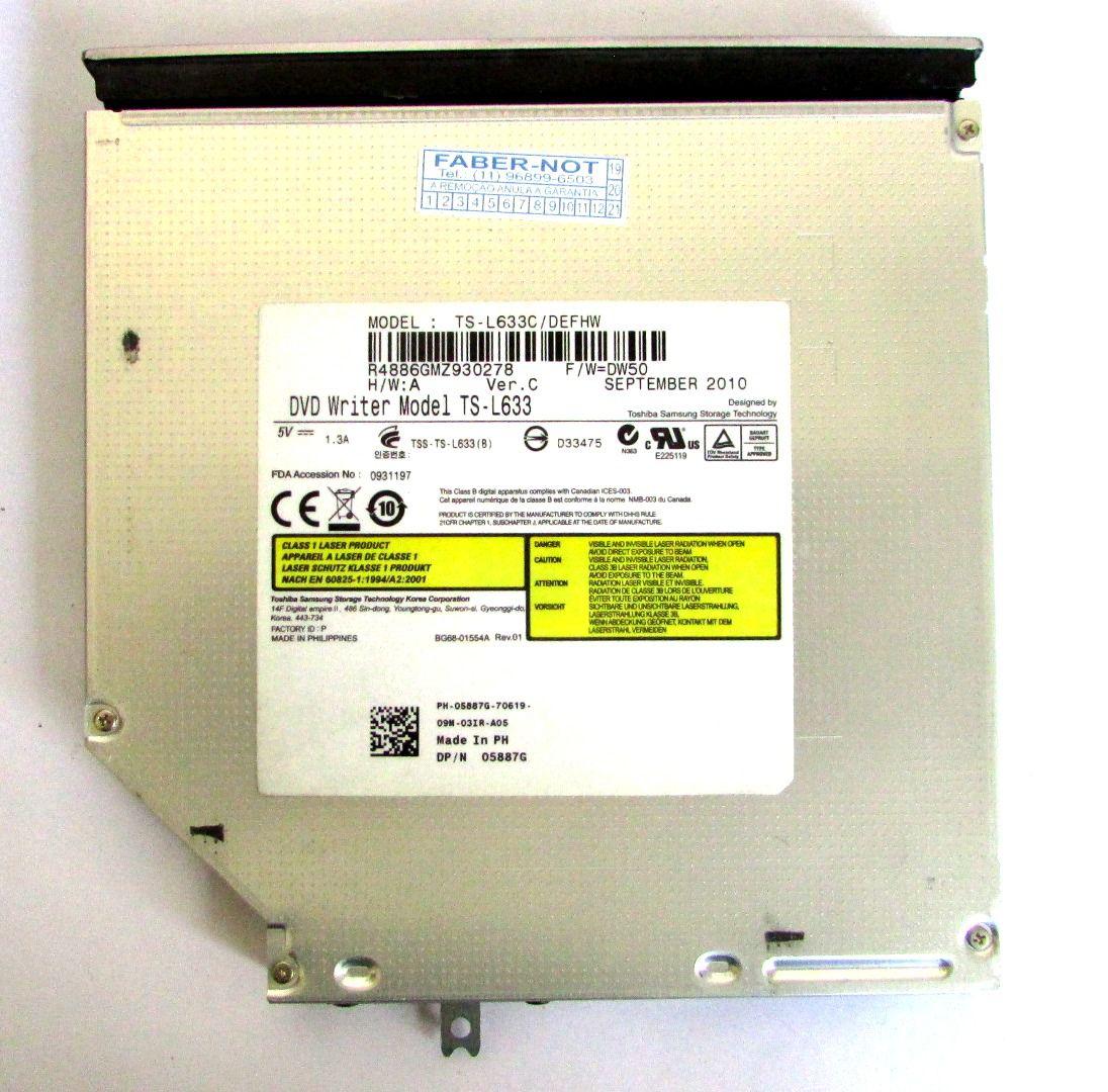 Gravador Drive Dvd Notebook Dell Vostro 3500 TS-L633 (semi novo)
