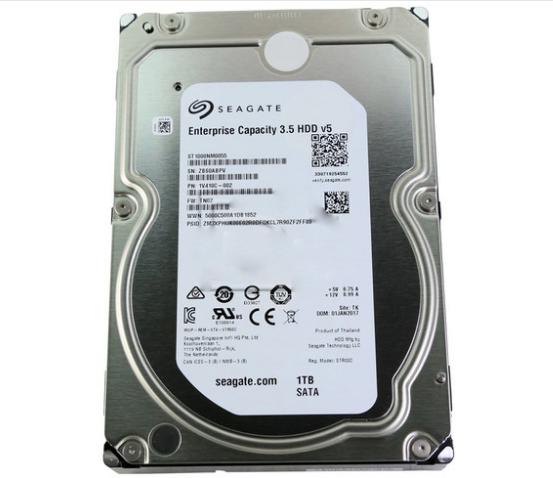HD interno Seagate Enterprise 1TB P/ Desktop 3.5 HDD v5 - 1V410C-002