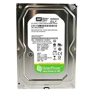 HD interno Wester WD 7200rpm LACRADO GreenPower 500gb desktop - WD500AVCS