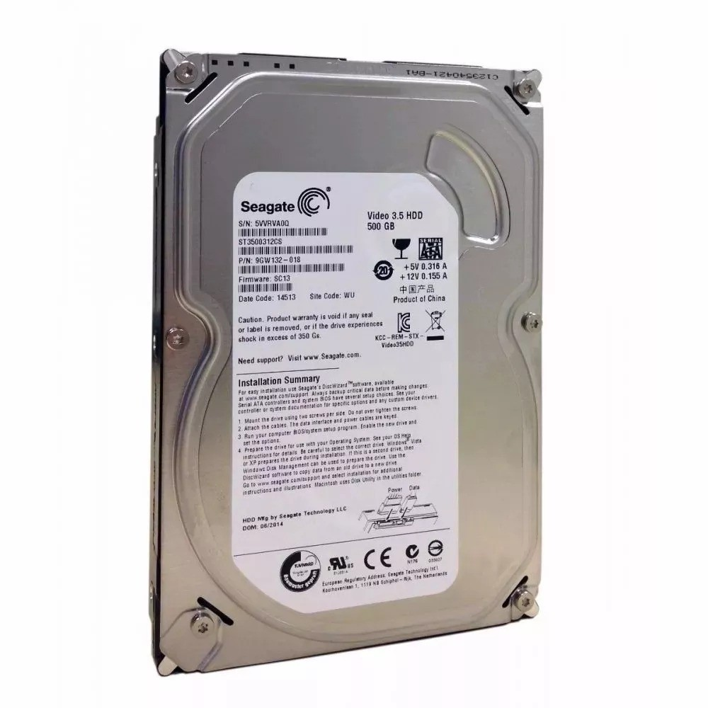 HD Video 3,5 500GB SATA II 8MB 5900RPM ST3500312CS OEM