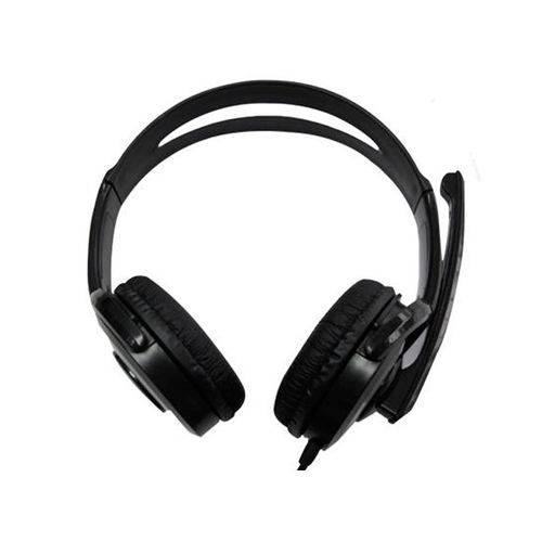 Headphone com Microfone e Controle de Volume USB 2.0 DF-55