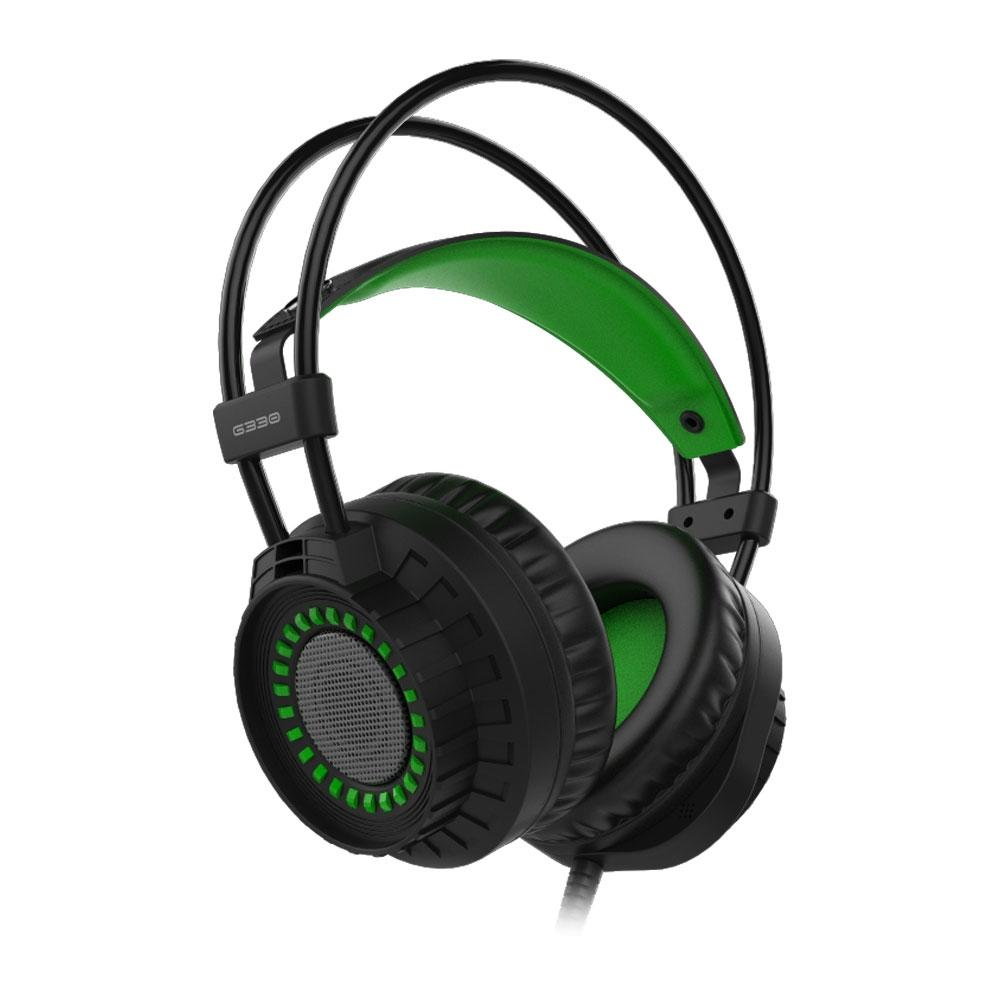 Headphone Gamer Element G Single Color, P2, Verde - G330
