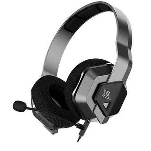 Headset Gamer C/ Microfone Galaxy Xanova Ocala Cinza Chumbo - Xh200