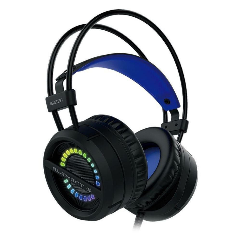 Headset Gamer G351 Element G 7.1 RGB/USB