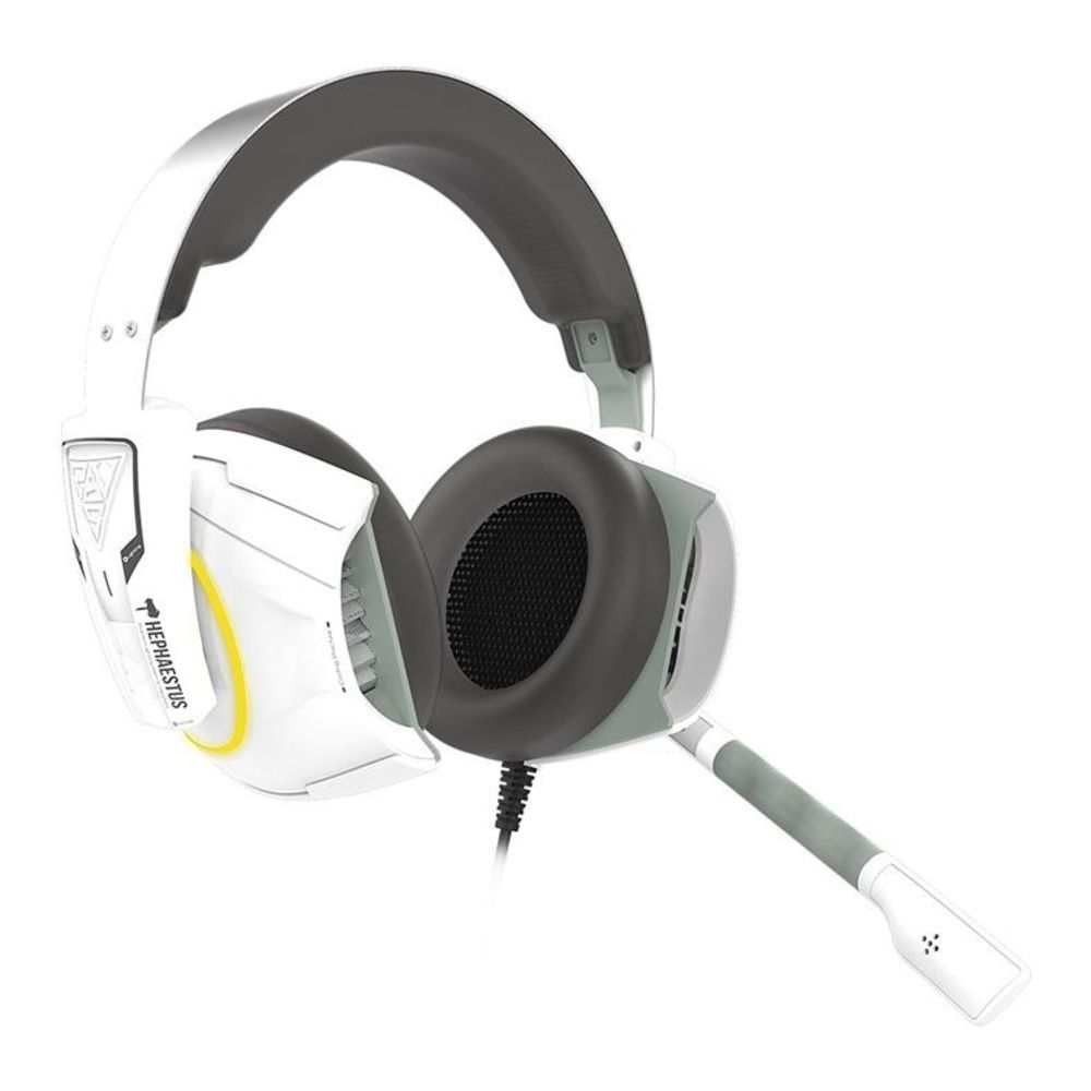 Headset Gamer Gamdias Rgb Usb - Pc / Ps4 / Xbox One  Branco - Hephaestus E1