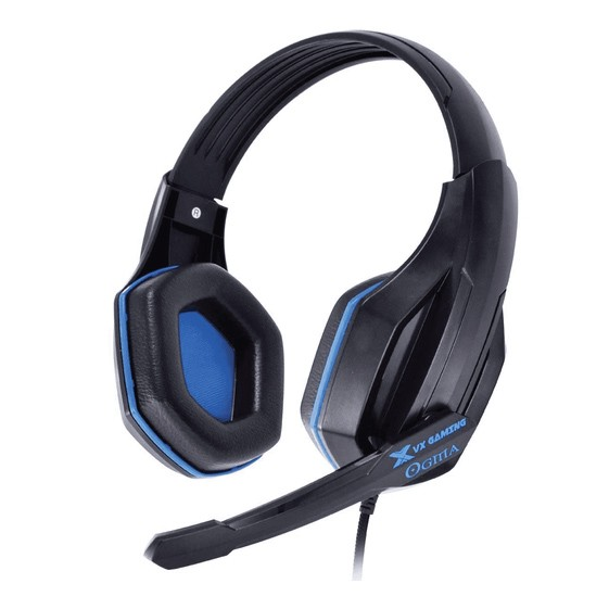 Headset Gamer Vx Gaming Ogma P2 C/ Mic Preto/azul PT/AZ - 25772