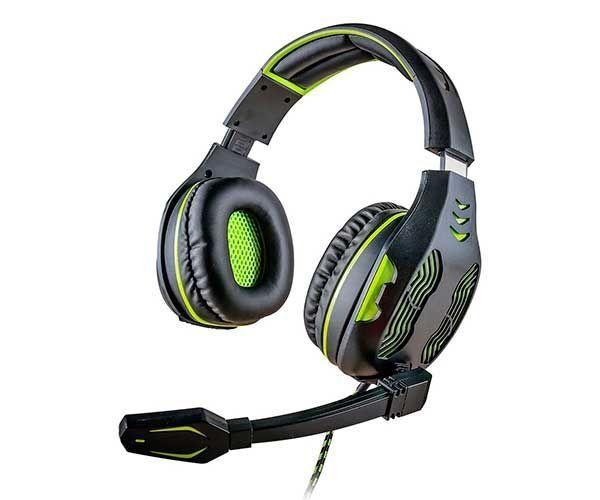 Headset Mymax Centauro 5.1 Verde, MHP-SP-X13/BKGR