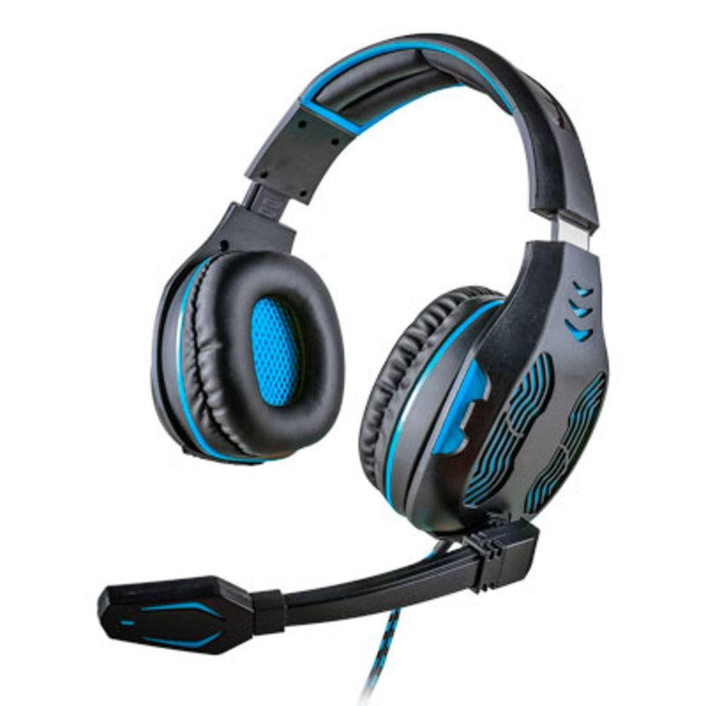 Headset Mymax Centauro 5.1 Azul MHP-SP-X13/BKBL