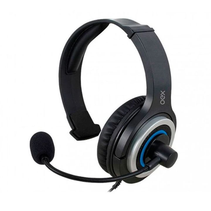 Headset Oex Gamer Army P/ Ps4 Smartphone P3 Preto - Hs407